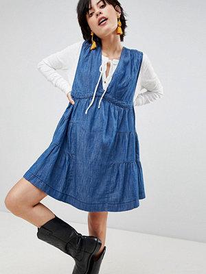 Free People Esme Denim Mini Dress