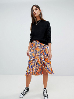 Y.a.s Floral Printed Wrap Skirt