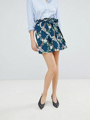 Oasis Fitzwilliam Paperbag A-Line Skirt - Multi