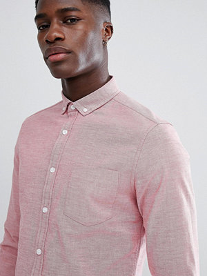 ASOS DESIGN Casual Slim Oxford