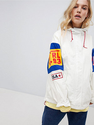 Polo Ralph Lauren Bring It Back Colour Block Jacket - Antique cream