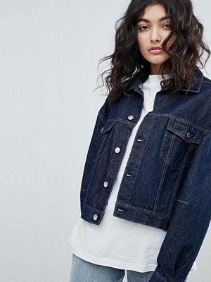 Weekday Rinse Denim Jacket - Rinse blue
