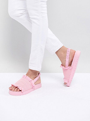 Monki Rouched Sandal