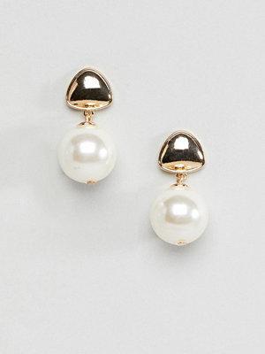 ASOS örhängen DESIGN Pearl Drop Earrings