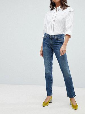 Vero Moda Jeans med raka ben Mellanblå denim