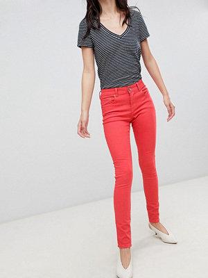 Brave Soul Nat Skinny Jeans - Coral