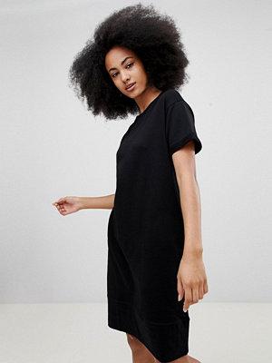 Pull&Bear Black Jersey Dress