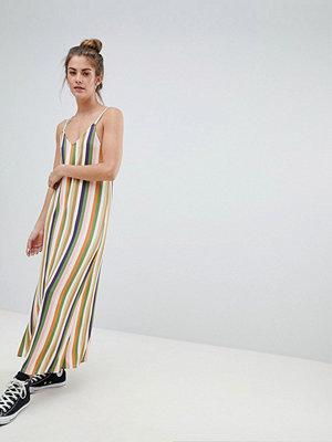 Pull&Bear cami dress in multi stripes