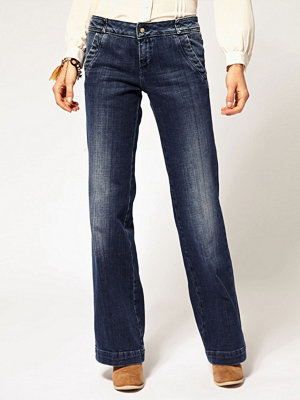 Pepe Jeans 70s Flared Jeans - Mid wash