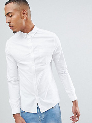 ASOS DESIGN Tall Casual Skinny Oxford