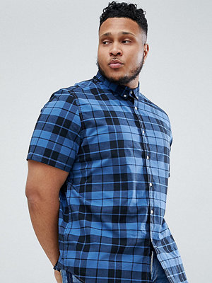 ASOS DESIGN Plus Skinny Check Shirt