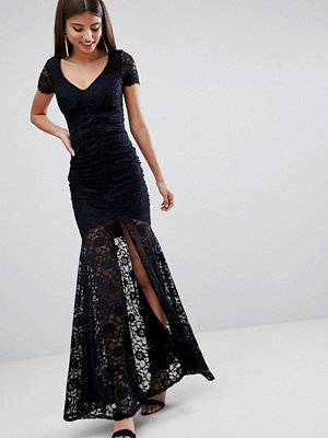 City Goddess Lace Maxi Dress