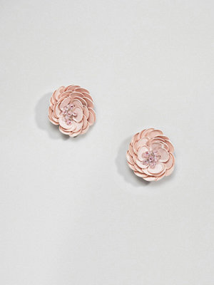 ASOS örhängen DESIGN Occcasion Flower Stud Earrings