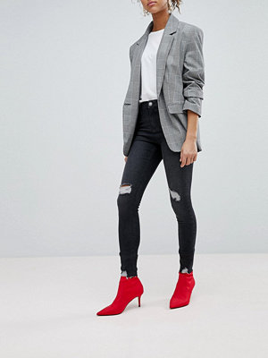 Miss Selfridge Lizzie Skinny Jeans - Grey
