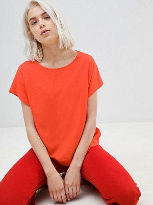 Weekday Wind T-shirt i vävt tyg