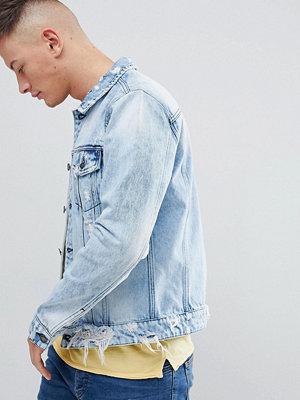 Jeansjackor - Only & Sons Denim Jacket In Washed Blue - Light blue denim