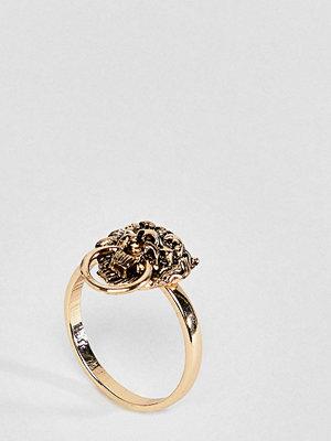ASOS Curve ASOS DESIGN Curve Exclusive Lionhead Ring