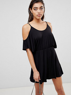 Ivyrevel Playsuit i jersey med bar axel