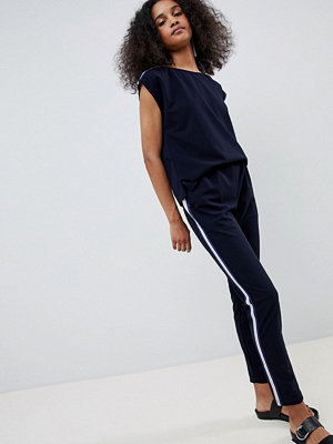 mbyM Relaxed Jumpsuit - Night sky lurex