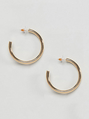 ASOS örhängen DESIGN Large Thick Hoop Earrings