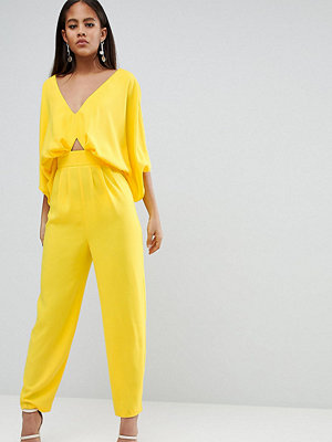 Asos Tall ASOS DESIGN Tall Jumpsuit With Kimono Sleeve And Peg Leg