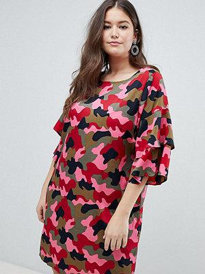 Junarose Camo Print Dress - Camo