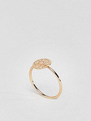 ASOS DESIGN pinky ring with filigree detail