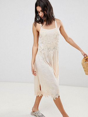 Free People In Your Arms Midi Dress - Rose