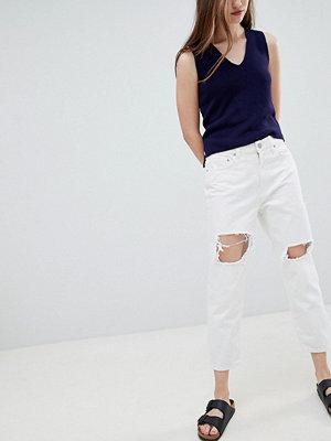 Wåven Aki Boyfriend jeans med knärevor