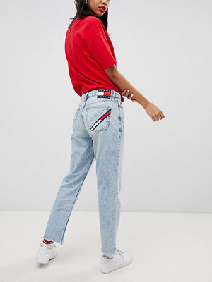 Tommy Jeans 90s Capsule 5.0 Mom Jeans - Light blue denim