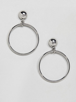 Monki örhängen Stud Drop Hoops Earrings