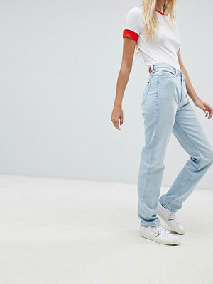 Tommy Jeans Classics High Rise Mom Jeans - Light blue