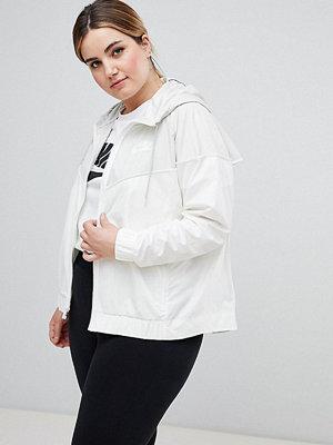 Nike Plus Windrunner Jacket In Light Bone - Light bone