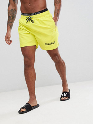 Calvin Klein Intense Power Swim Shorts with Double Waistband