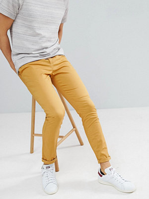 ASOS DESIGN Skinny Chinos In Mustard - Wood thrush