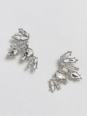 True Decadence örhängen Silver Embellished Earring (+)