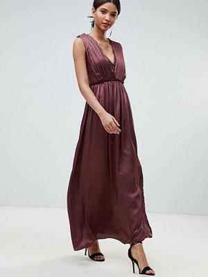 Little Mistress Lace Maxi Dress - Ochre