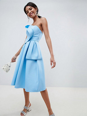 ASOS DESIGN origami top prom dress
