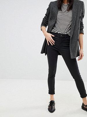Vero Moda Jeans med smal passform Mörkgrå denim