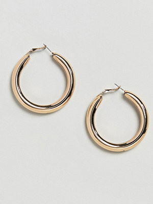Weekday örhängen Thick Hoop Earrings
