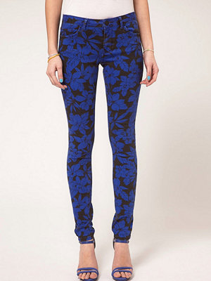 ASOS Skinny Jeans In Midnight Hawaiian Print #4