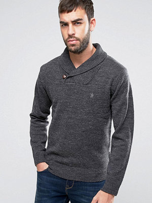Tröjor & cardigans - French Connection Lamb Shawl Collar Jumper