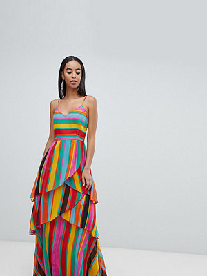 Asos Tall ASOS DESIGN Tall stripe cami maxi dress