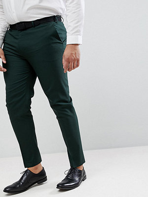 ASOS PLUS Skinny Smart Trousers