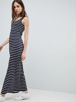 Only Abbie Stripe Maxi Dress - Nht sky/ wht stripes