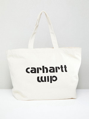 Carhartt WIP Carhartt Shopper Bag in Ecru - Ecru / black