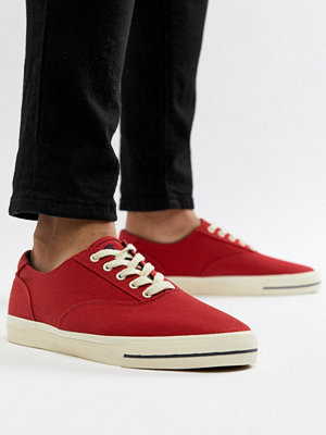 Polo Ralph Lauren CP-93 Capsule Canvas Trainers in Red - Rl 2000 red