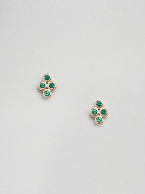 SHASHI örhängen 18K Gold Plated Noa Stud Earrings