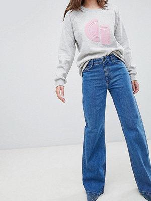 Gestuz Gwyneth Utsvängda jeans Carolina blue