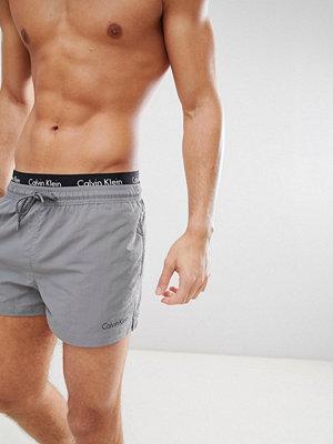 Calvin Klein Neo Short Swim Shorts with Double Waistband